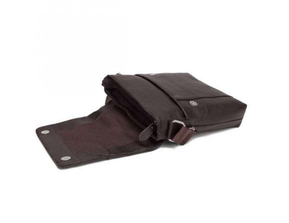 Мужская кожаная сумка-мессенджер TIDING BAG A25-98075С - Фото № 2