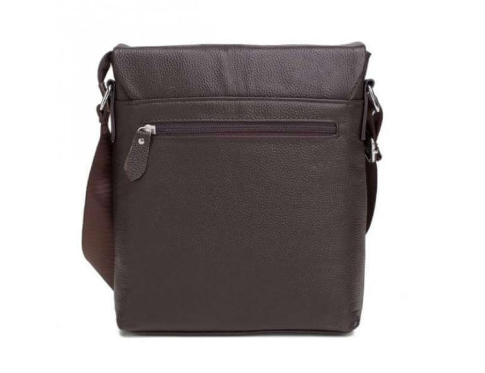 Мужская кожаная сумка-мессенджер TIDING BAG A25-98075С - Фото № 5