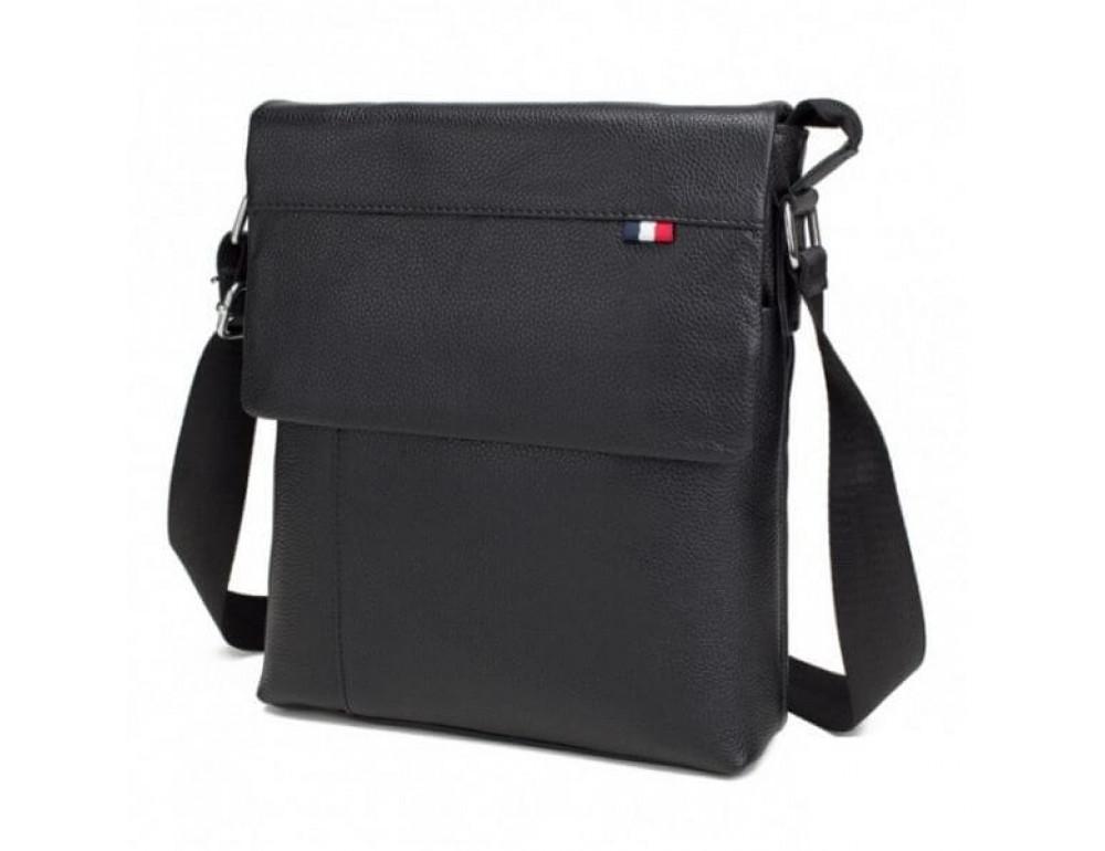 Мужская кожаная сумка-мессенджер TIDING BAG A25-98075A