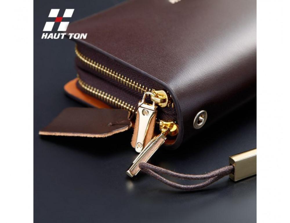 Кожаный клатч HAUTTON SZB19C - Фото № 4