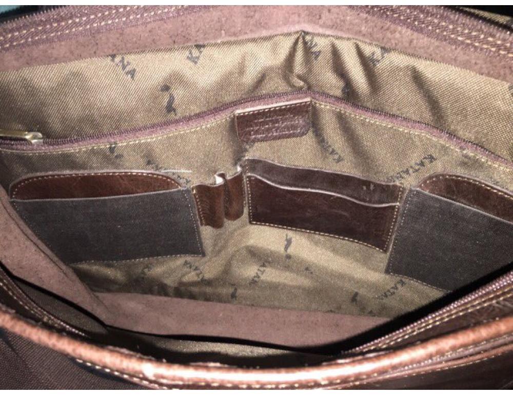 Мужская сумка через плечо KATANA k36107-2 - Фотографія № 4