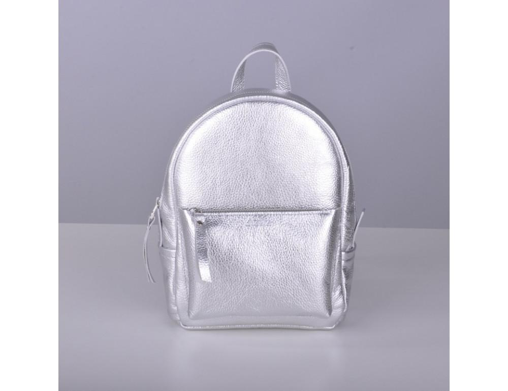 Шкіряний рюкзак jizuz Sport Aqua silver SP232910Sil - Фотографія № 2