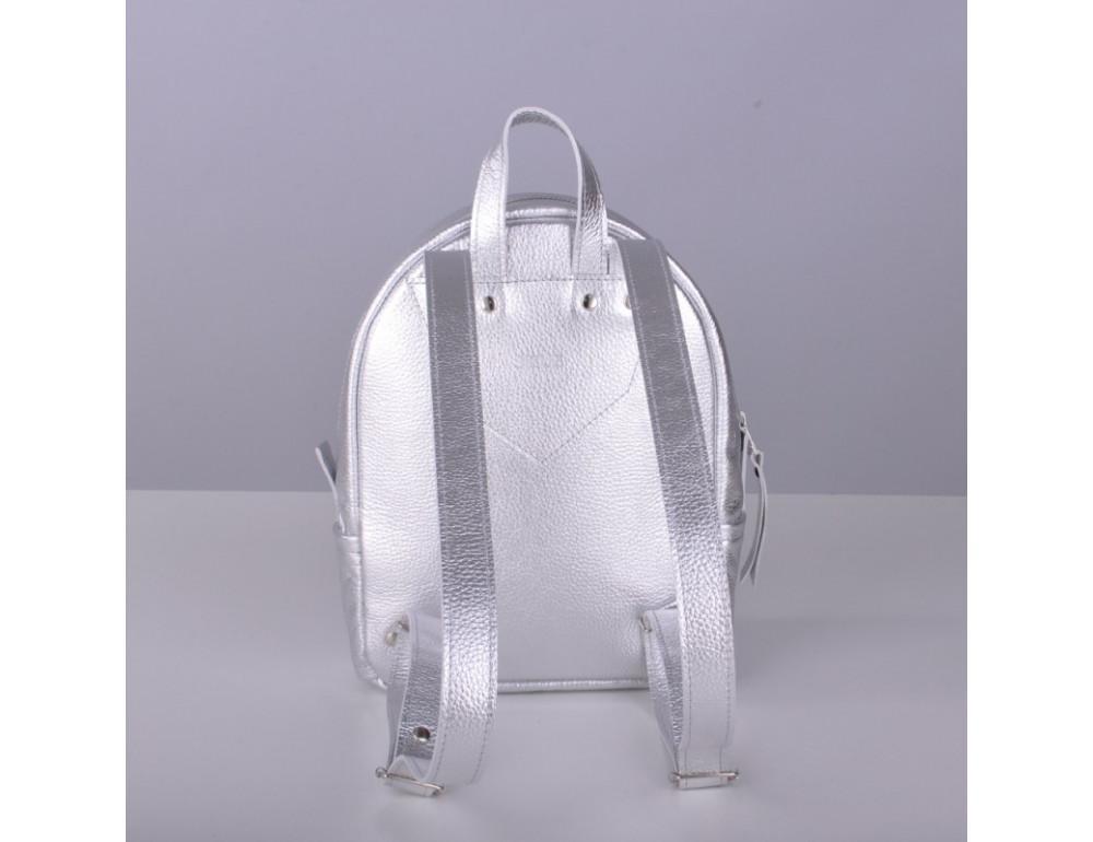 Шкіряний рюкзак jizuz Sport Aqua silver SP232910Sil - Фотографія № 3
