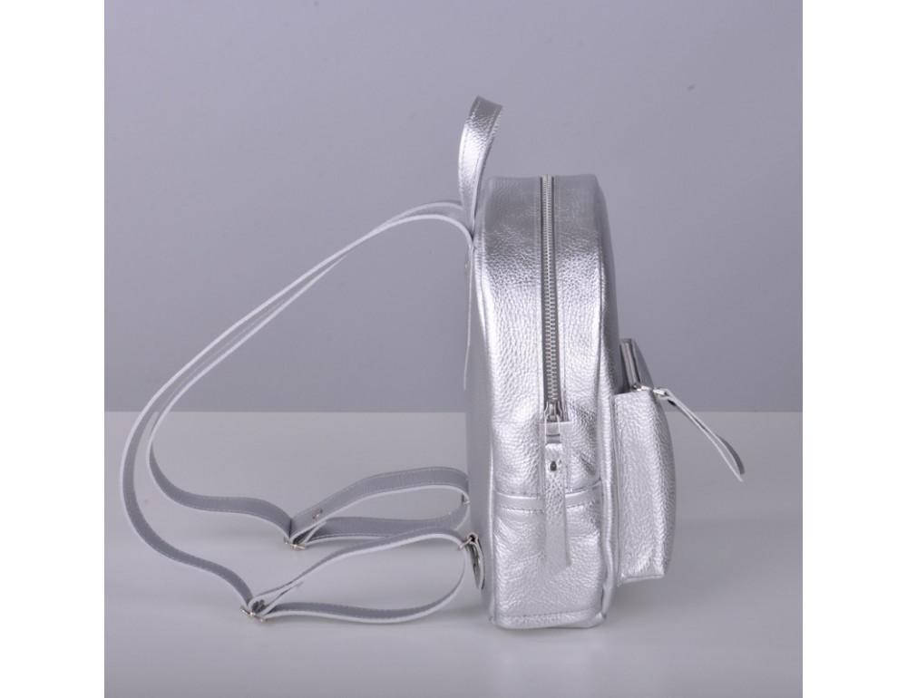 Шкіряний рюкзак jizuz Sport Aqua silver SP232910Sil - Фотографія № 4