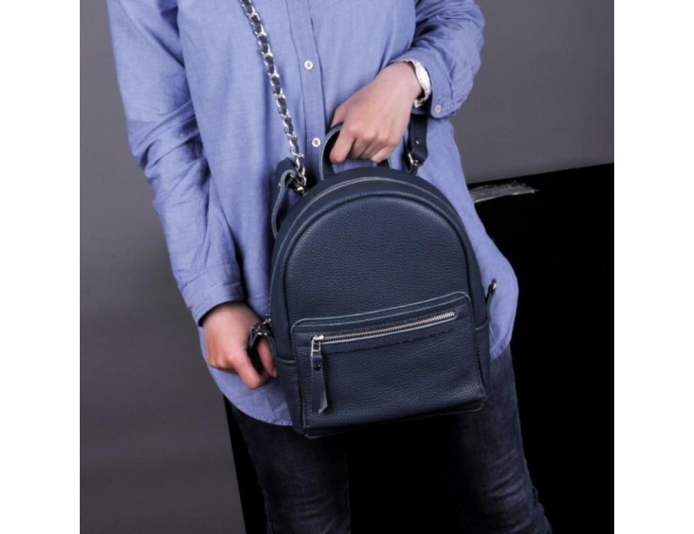 Кожаный рюкзак jizuz Sport Blue - Фото № 3