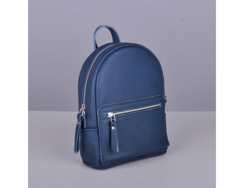 Кожаный рюкзак jizuz Sport Blue - Фото № 5