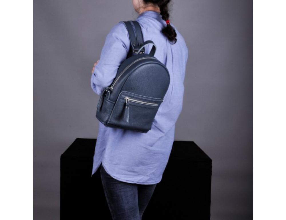 Кожаный рюкзак jizuz Sport Blue - Фото № 6