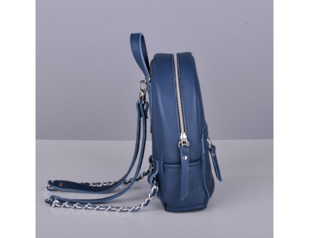 Кожаный рюкзак jizuz Sport Blue - Фото № 7