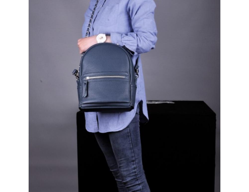 Кожаный рюкзак jizuz Sport Blue - Фото № 8