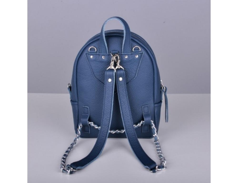 Кожаный рюкзак jizuz Sport Blue - Фото № 9