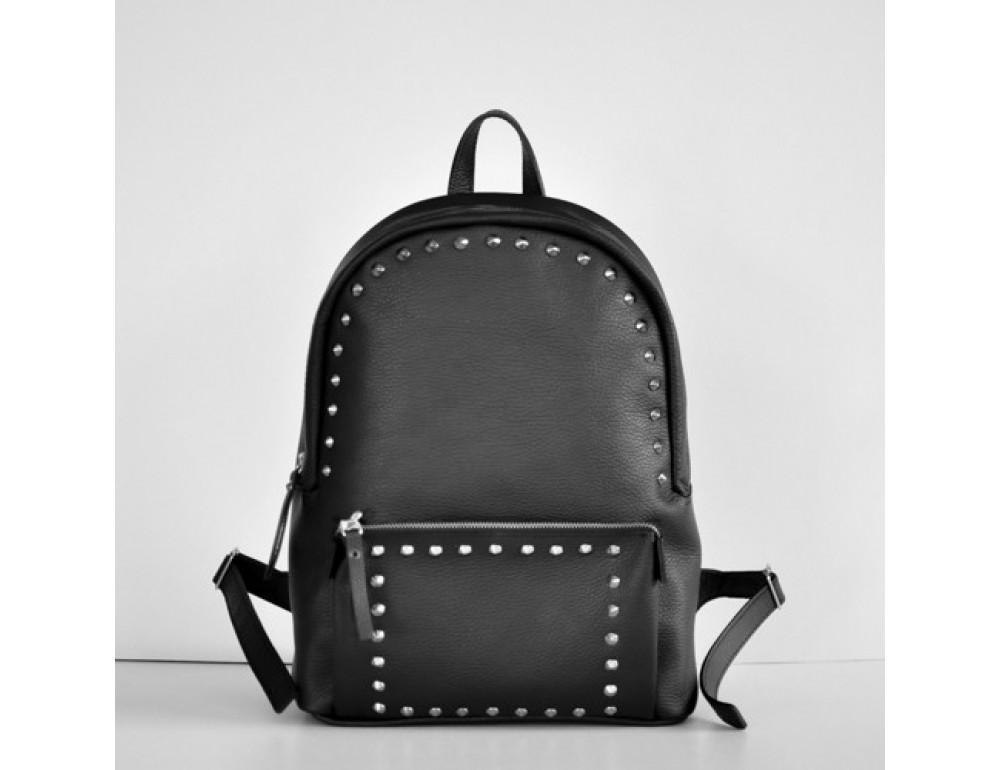 Шкіряний рюкзак jizuz PILOT BLACK-R