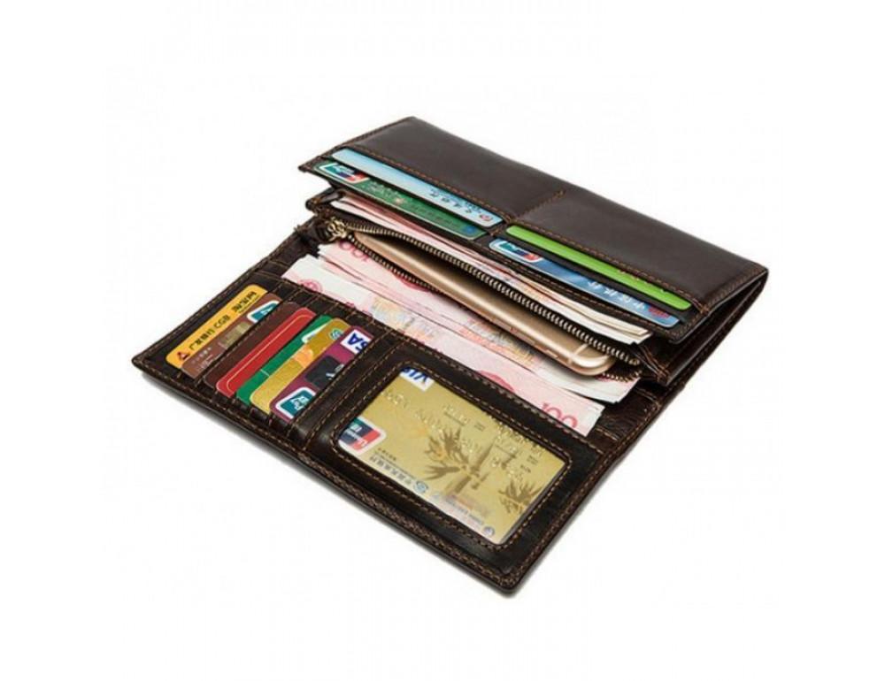 Кожаный кошелёк MS MS040B - Фотографія № 8