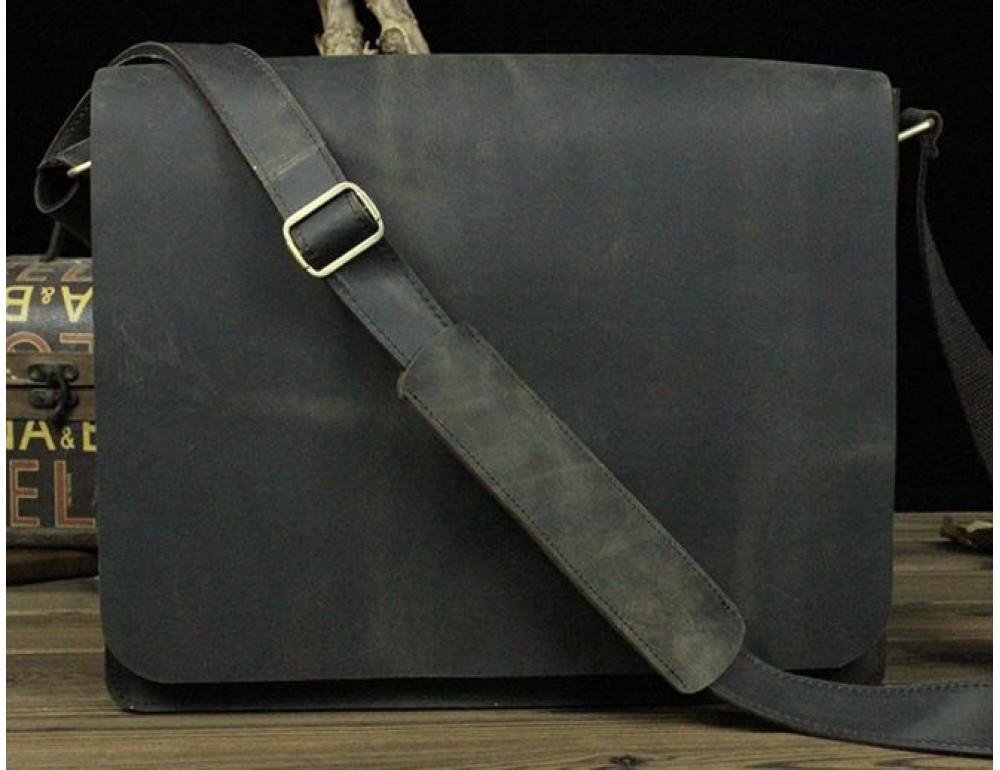 Мужская сумка на плечо Bexhill BXA603BD тёмно-коричневый - Фото № 3