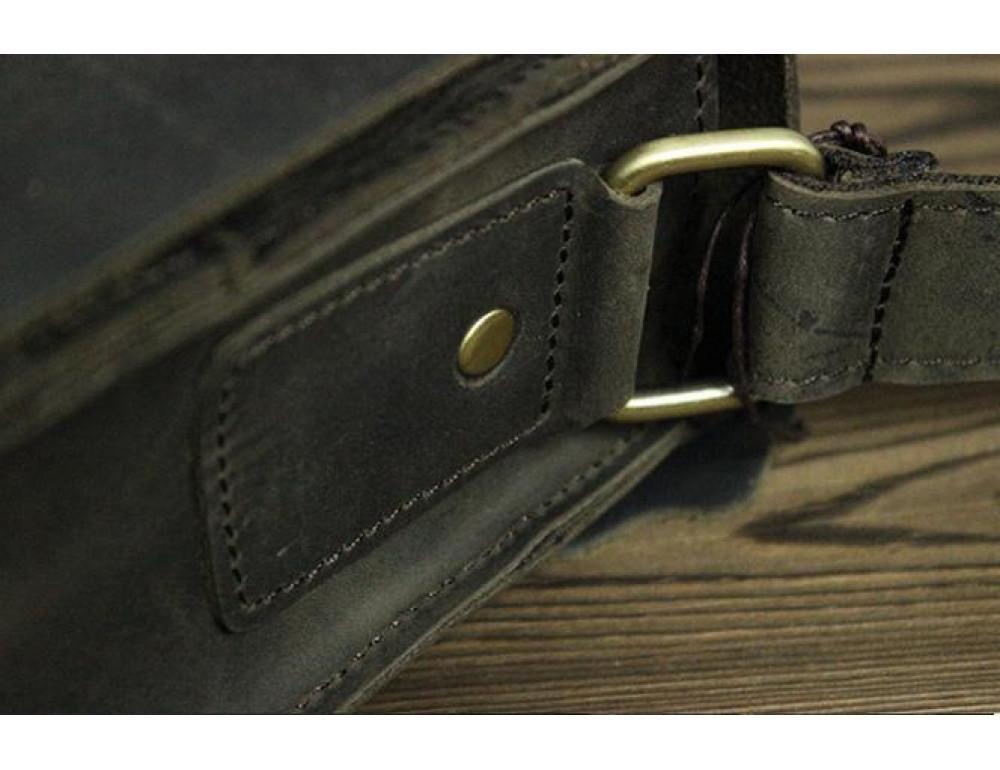 Мужская сумка на плечо Bexhill BXA603BD тёмно-коричневый - Фото № 7