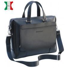 Мужская кожаная сумка Black Diamond BD10A чёрная
