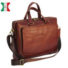 Мужская кожаная сумка Black Diamond BD10C коричневая