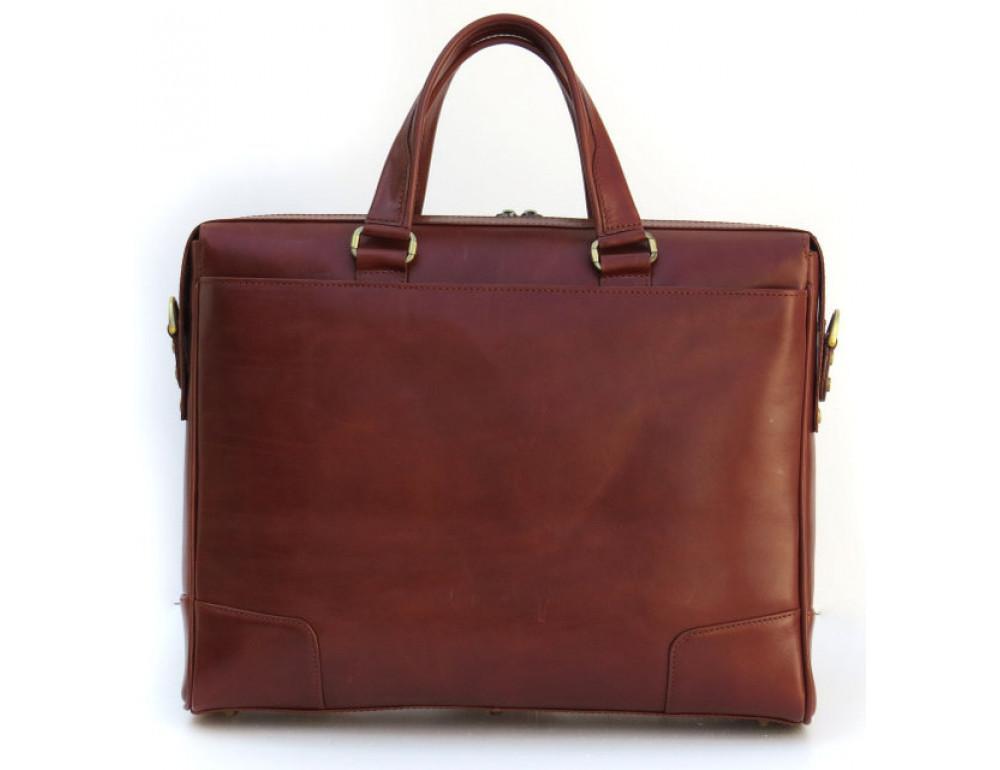 Чоловіча шкіряна сумка Black Diamond BD10C коричнева - Фотографія № 2