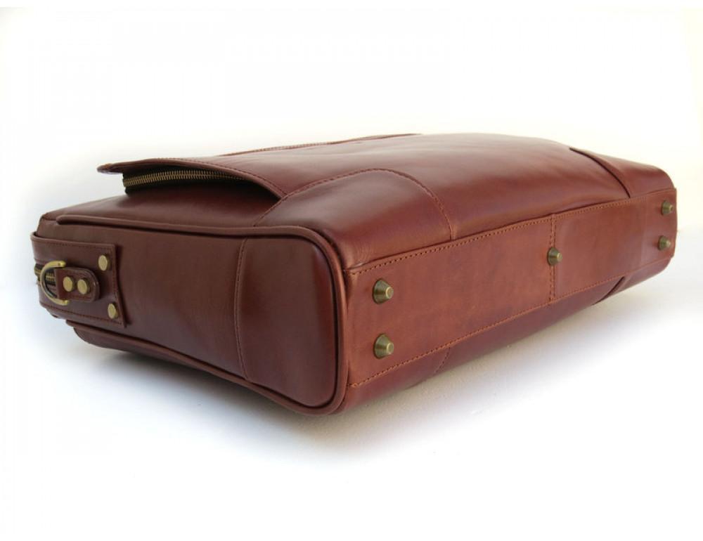 Чоловіча шкіряна сумка Black Diamond BD10C коричнева - Фотографія № 5
