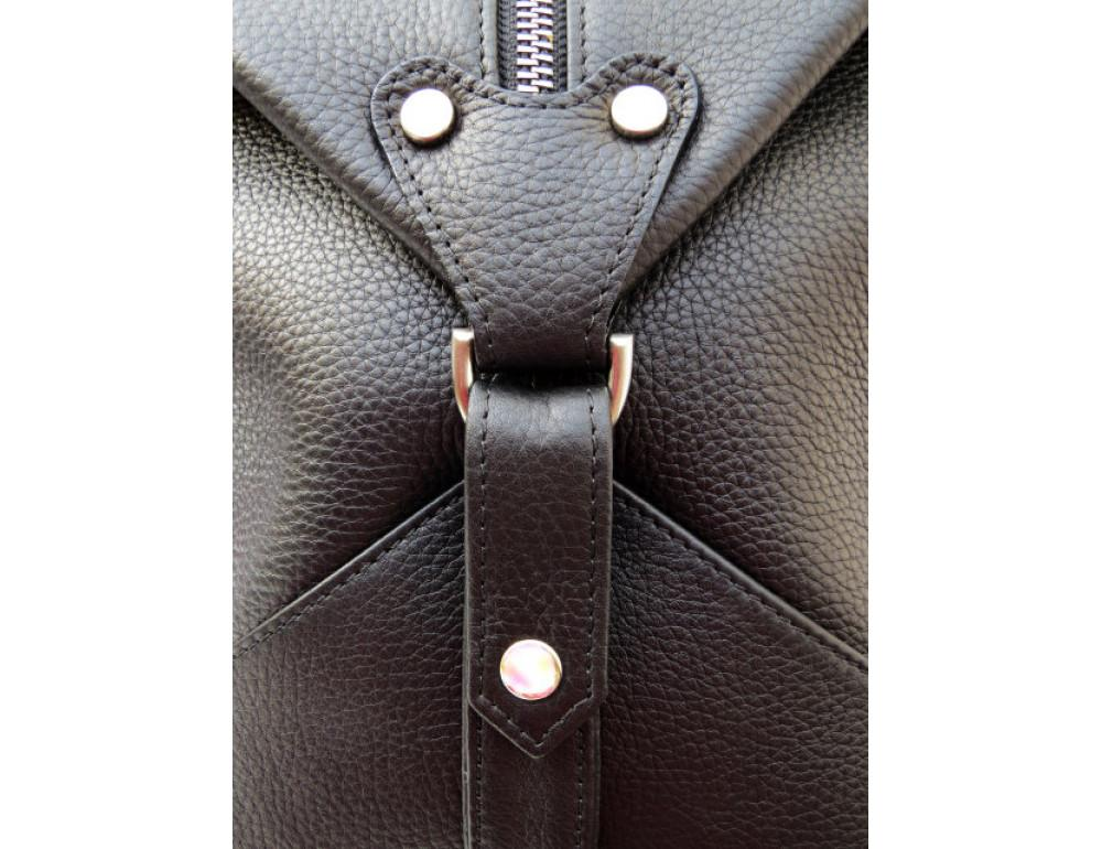 Мужская дорожная сумка Black Diamond BD32AF чёрная - Фото № 8