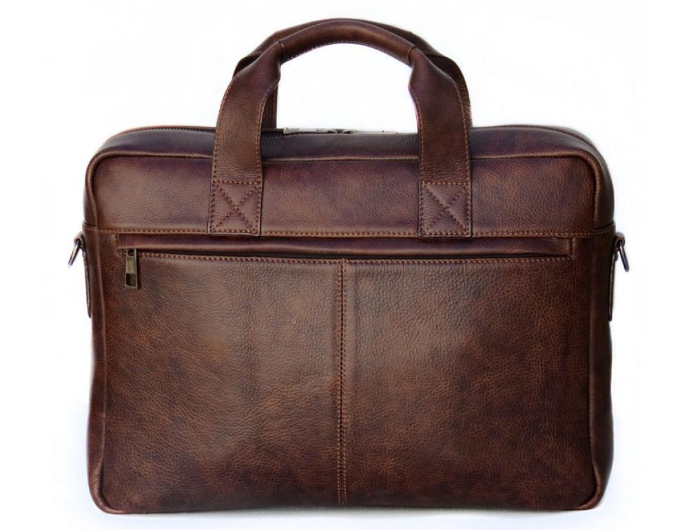Шкіряна чоловіча сумка Black Diamond BD7Cshar коричневий - Фотографія № 2