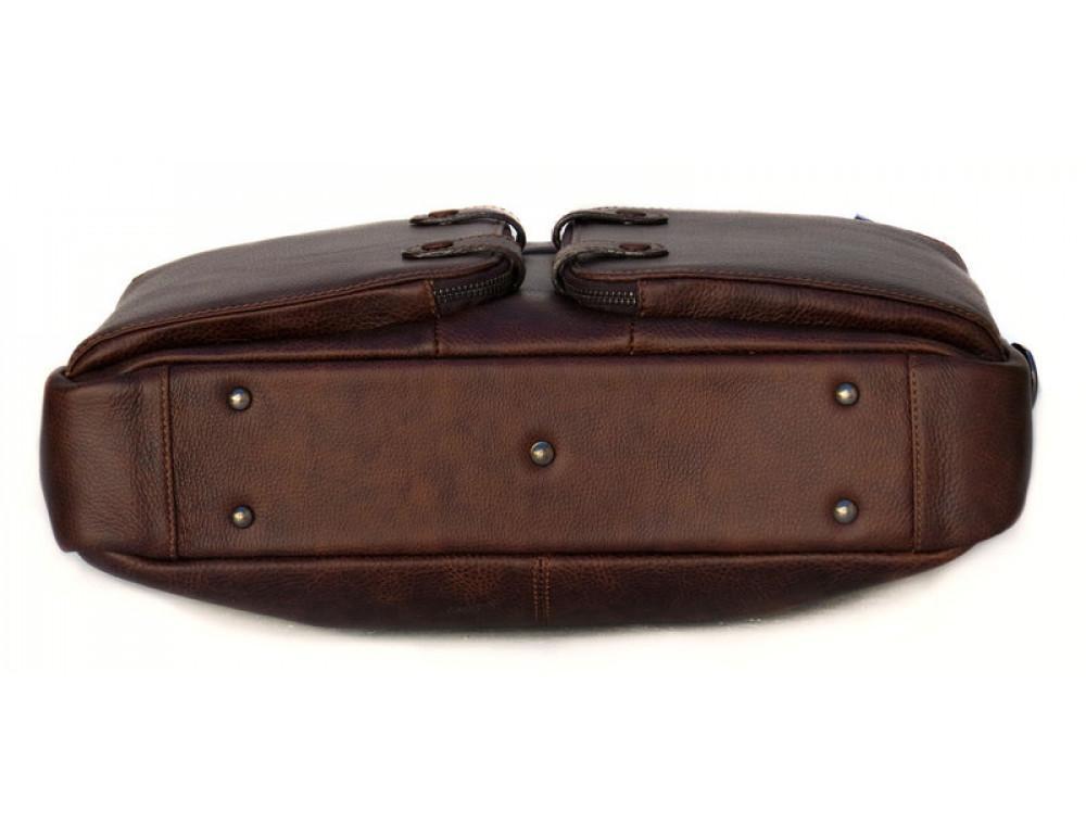 Шкіряна чоловіча сумка Black Diamond BD7Cshar коричневий - Фотографія № 4