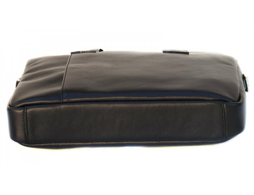 Чоловіча шкіряна сумка Black Diamond BDM18A чорна - Фотографія № 6