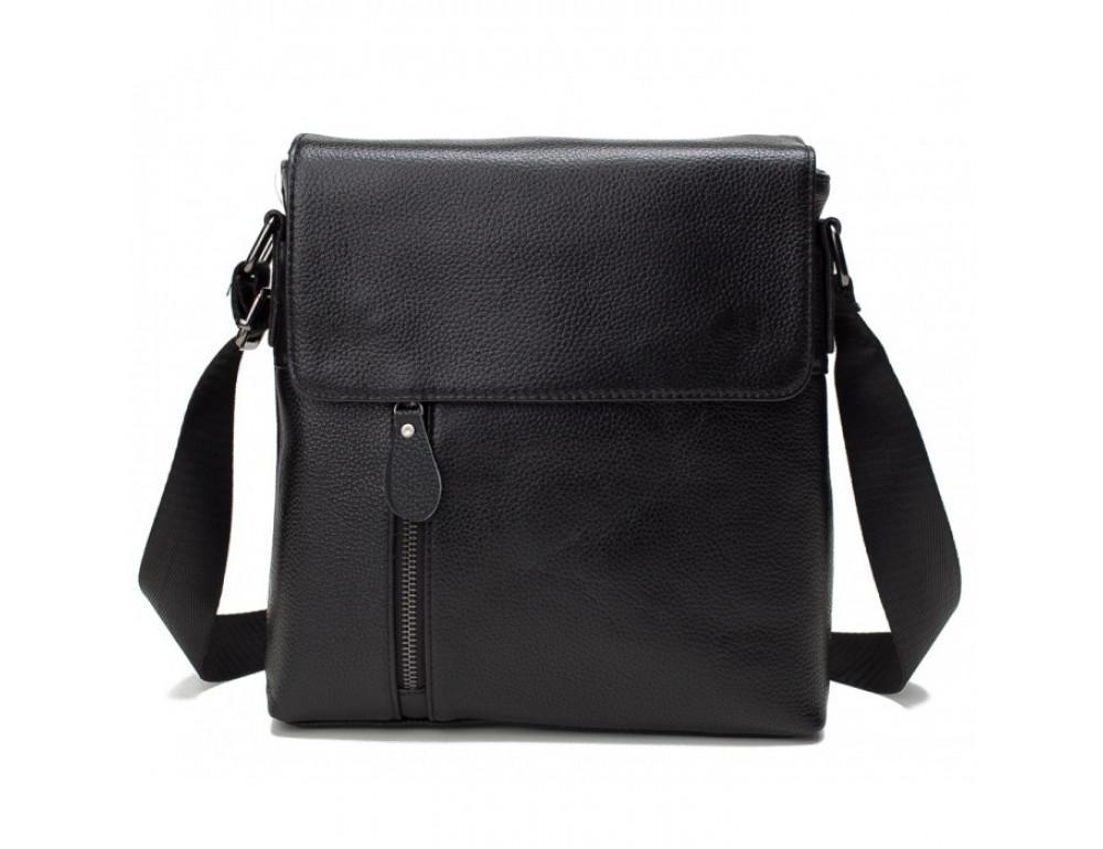 Мужская кожаная сумка через плечо TIDING BAG A25-238-1A - Фото № 5