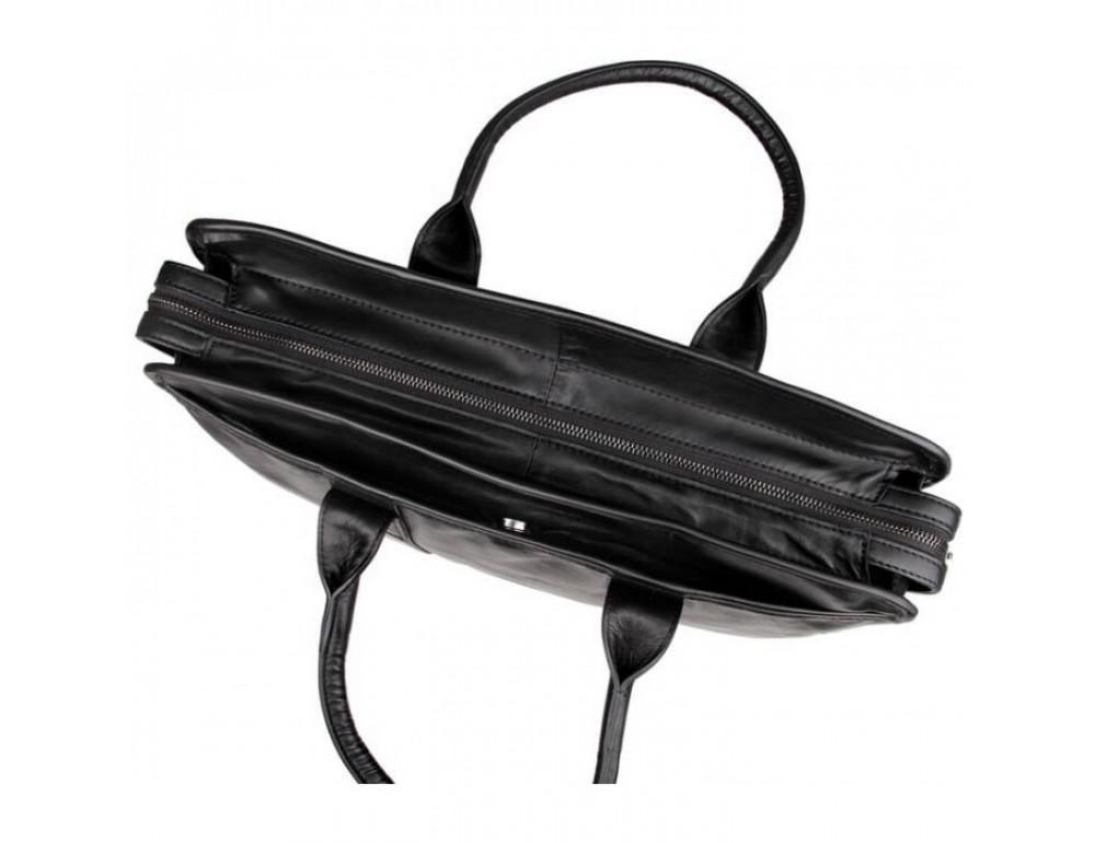 Мужская кожаная сумка JASPER-MAINE 7321A - Фото № 3