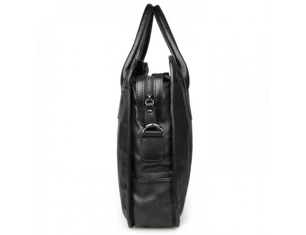 Мужская кожаная сумка JASPER-MAINE 7321A - Фото № 4