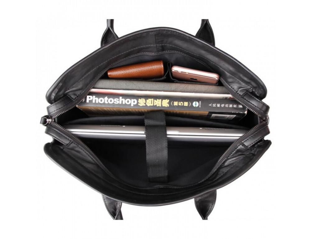 Мужская кожаная сумка JASPER-MAINE 7321A - Фото № 6