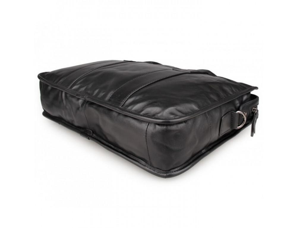 Мужская кожаная сумка JASPER-MAINE 7321A - Фото № 5