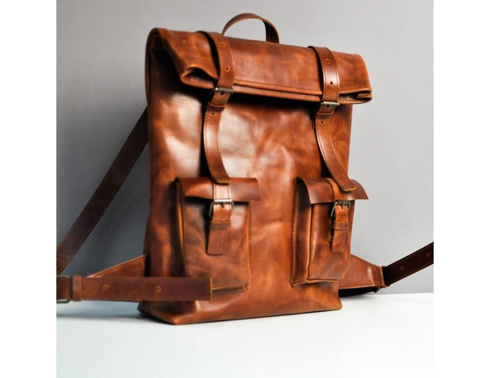 Кожаный рюкзак jizuz MOUNT RETRO