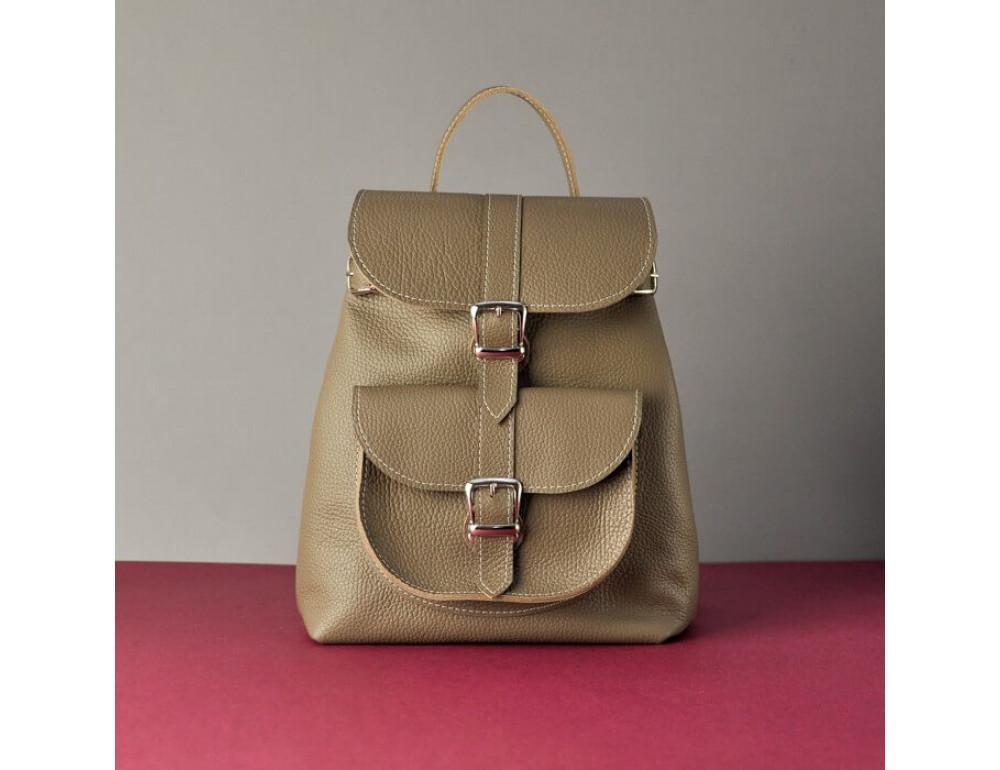 Кожаный рюкзак СLASSIC BEIGE