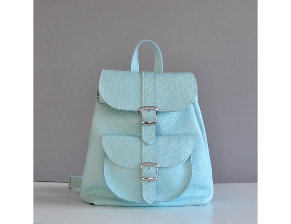 Шкіряний рюкзак СLASSIC NEW AQUA