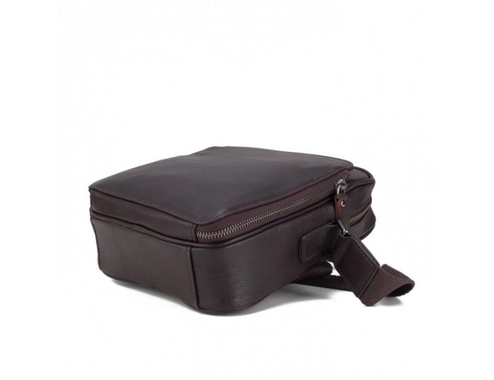 Чоловічий шкіряний месенджер TIDING BAG M47-22005-2C коричневий - Фотографія № 6
