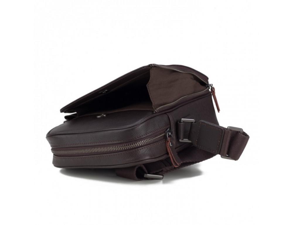 Чоловічий шкіряний месенджер TIDING BAG M47-22005-2C коричневий - Фотографія № 3