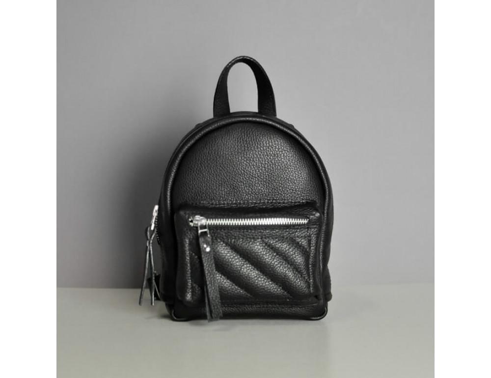 Жіночий шкіряний рюкзак jizuz SPORT-SOFT BLACK