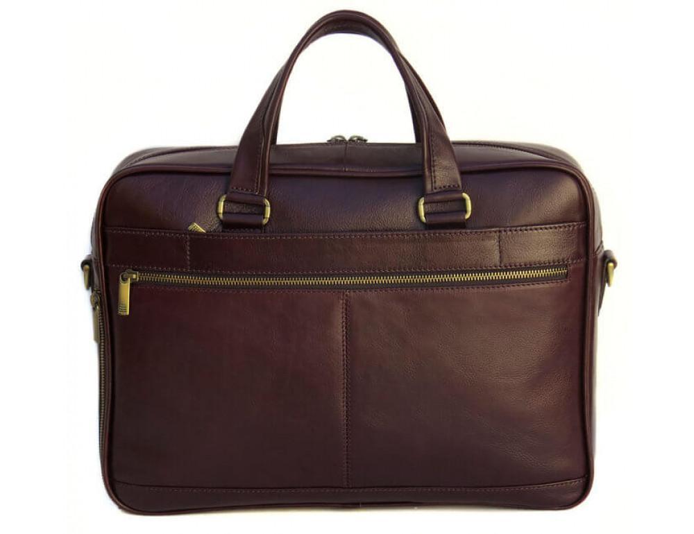 Чоловіча шкіряна сумка Black Diamond BD18C коричнева - Фотографія № 3