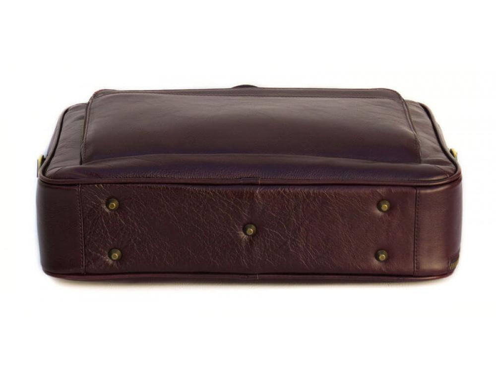 Чоловіча шкіряна сумка Black Diamond BD18C коричнева - Фотографія № 5