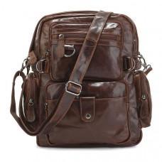 Шкіряний рюкзак TIDING BAG 7042Q