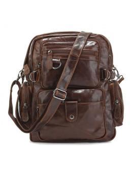 Кожаный рюкзак TIDING BAG 7042Q