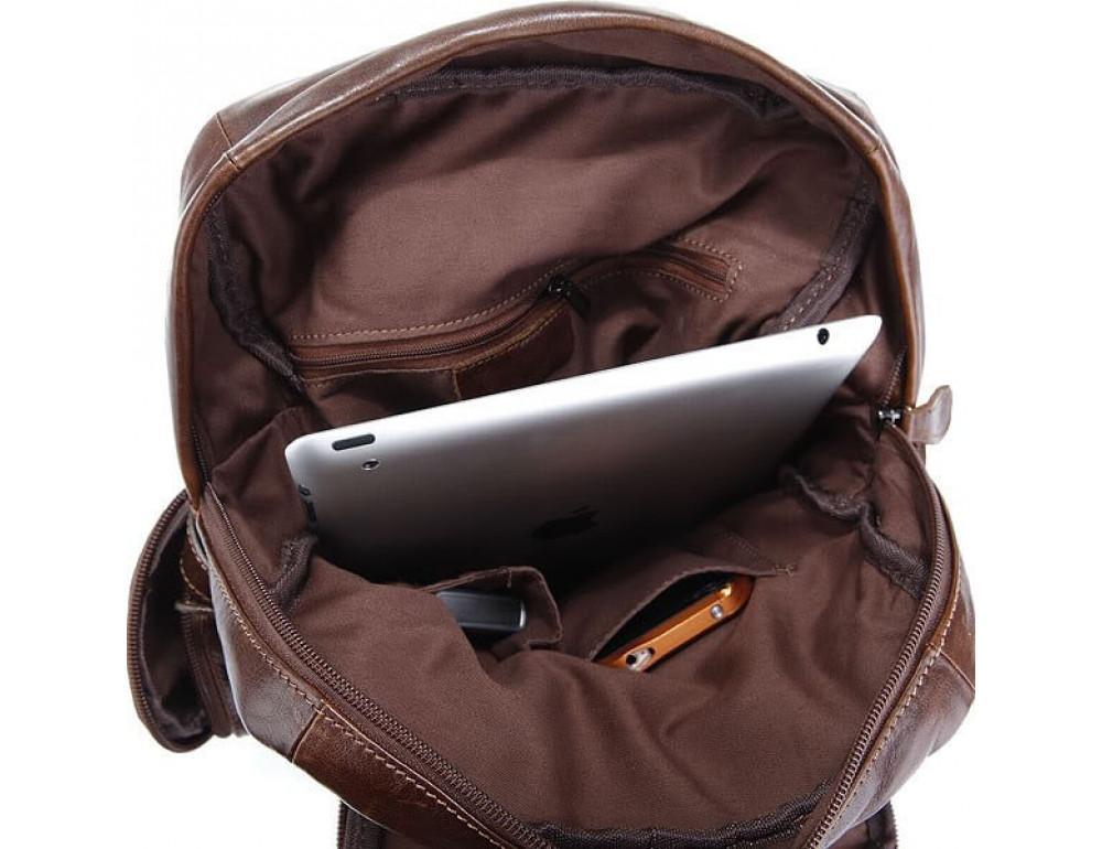 Шкіряний рюкзак TIDING BAG 7042Q - Фотографія № 6