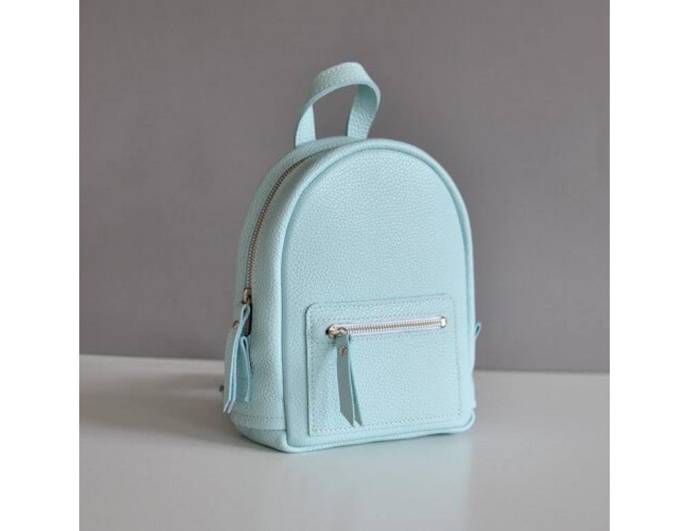 Шкіряний жіночий рюкзак jizuz Baby Sport Aqua