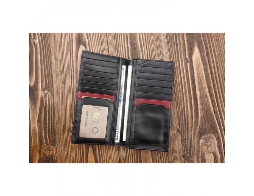 Мужской кожаный портмоне Ruff Ryder 3533P - Фото № 5