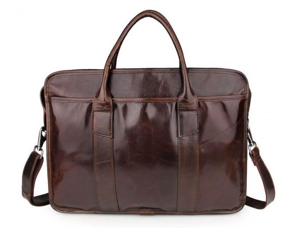 Чоловіча шкіряна сумка JASPER-MAINE 7321C - Фотографія № 5