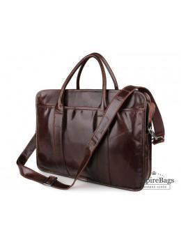Мужская кожаная сумка JASPER-MAINE 7321C