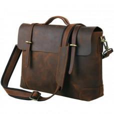 Мужской кожаный портфель TIDING BAG 7082R