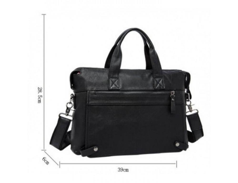 Кожаная сумка для ноутбука JASPER & MAINE 7120A-1 - Фото № 4