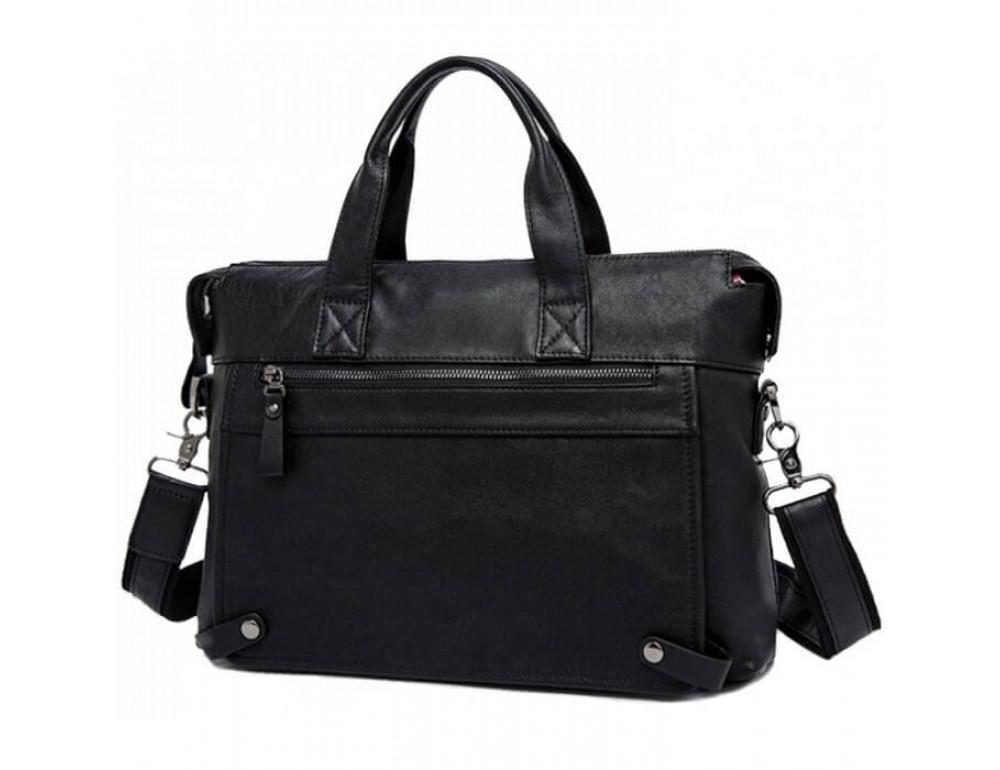 Кожаная сумка для ноутбука JASPER & MAINE 7120A-1 - Фото № 5