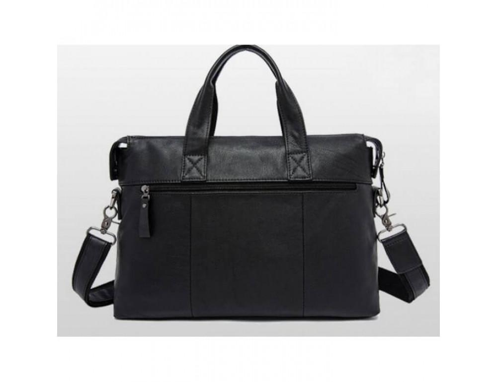 Кожаная сумка для ноутбука JASPER & MAINE 7120A-1 - Фото № 2